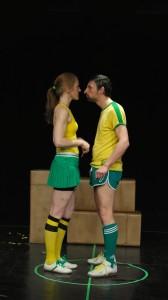 """Judica Albrecht und Thomas Georgi in """"Eier! Wir brauchen Eier!"""""""